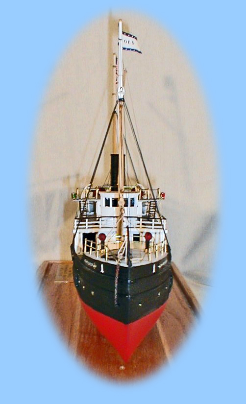 Bow of the model
