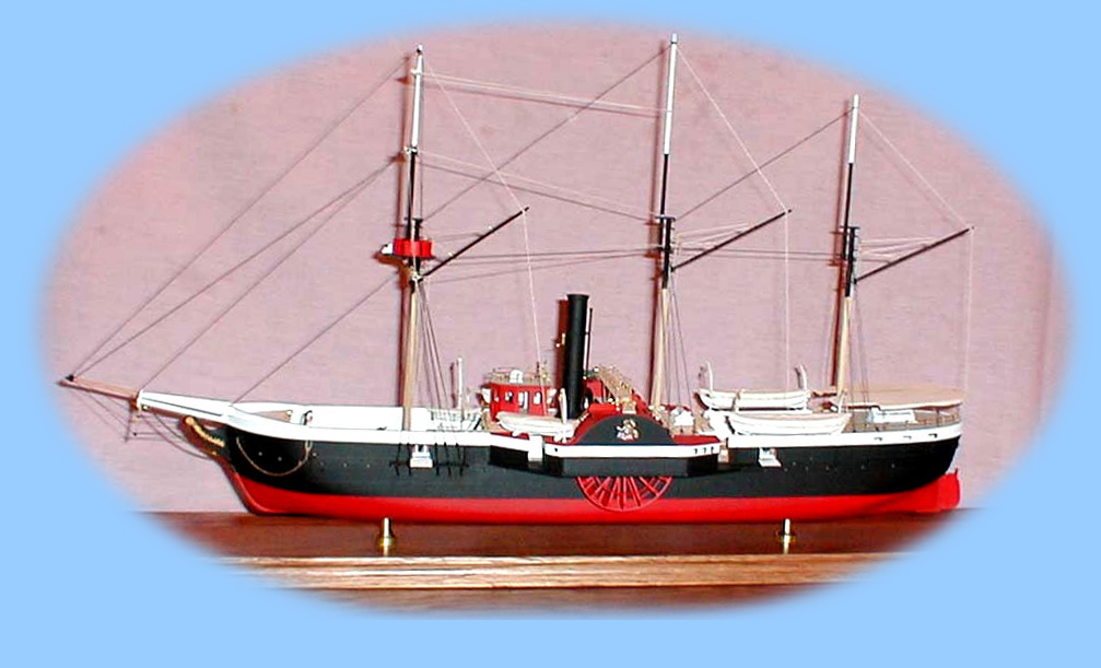 broadside of model