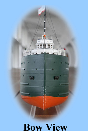 Bow of the Freighter William P. Snyder model