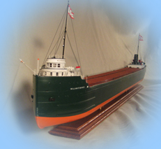 Model of the freighter William P. Snyder